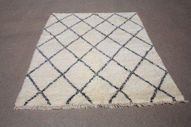 Berber teppich muster  Beni Ouarain Teppich / Beni Ourain Teppich / Berberteppich -