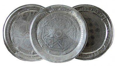 Handgefertigtes Tablett aus Marokko