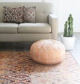 Moroccan ottoman ( Colour: natural)