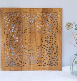 Houten wandpaneel ORNAMENTO naturel