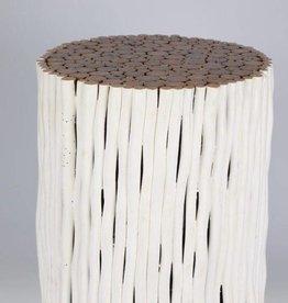Ronder Beisetztisch aus Holz Design RAMI / Verschiedene Abmessungen moeglich