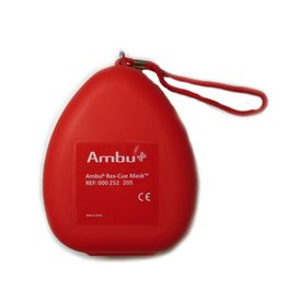 Ambu Ambu Rescue Mask - O2 inlaat Hardcase (5 stuks)