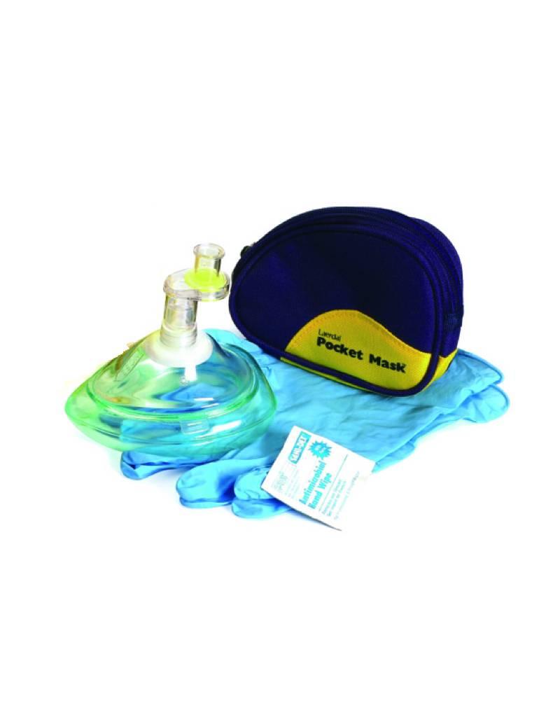 Laerdal Laerdal Pocketmask in Draagtas (5 stuks)
