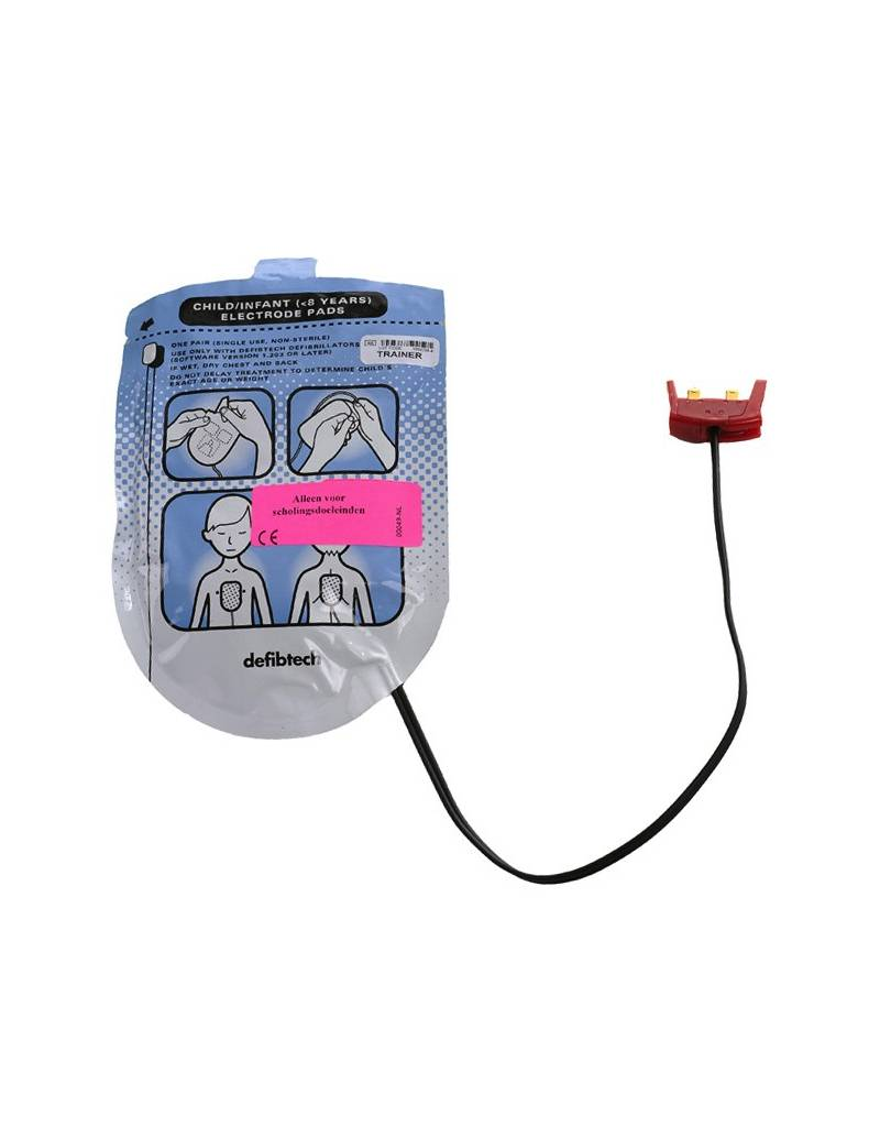 Defibtech Defibtech Trainingselektroden Kinderen (1set)