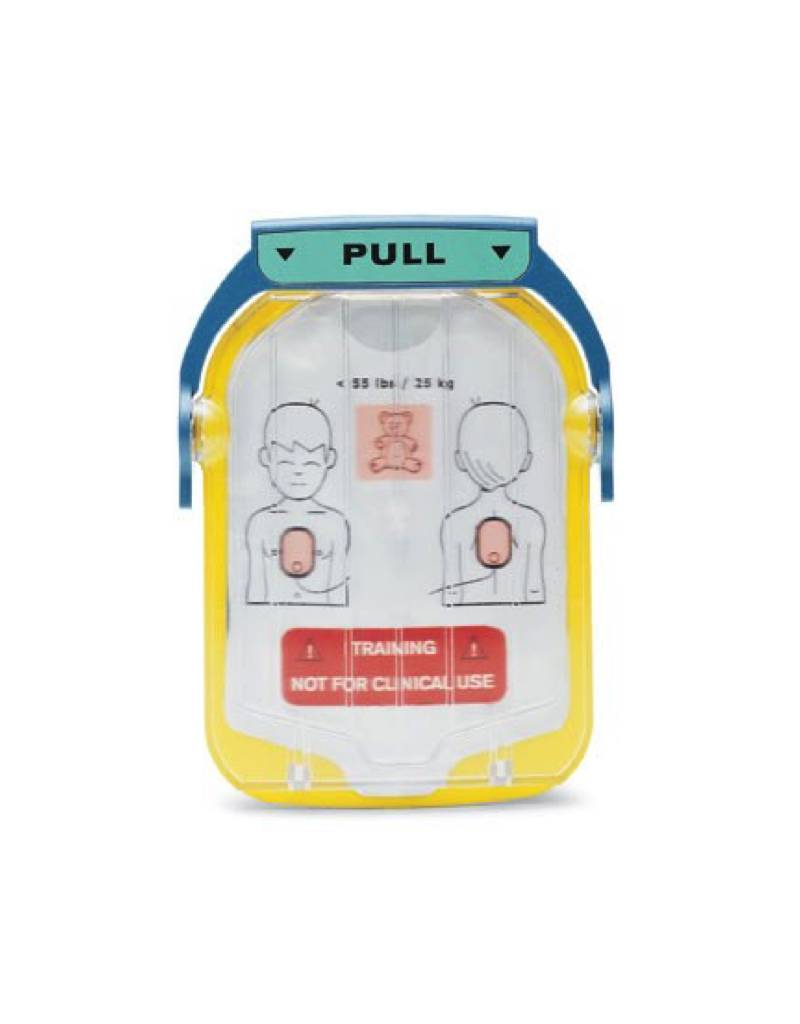 Philips Heartstart HS1 Trainingselektroden Kinderen incl. cassette