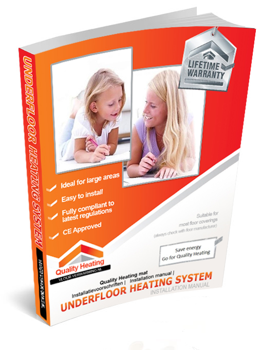 Elektrische vloerverwarming kabel instructiehandleiding