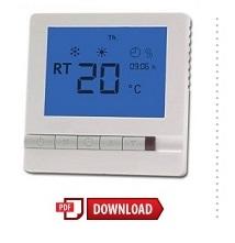 instructiehandleiding touch elektrische vloerverwarming thermostaat