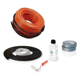 Vloerverwarming kabel zonder thermostaat