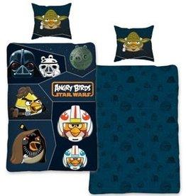 Angry Birds Dekbedovertrek 140x200 Katoen Star Wars AB01018
