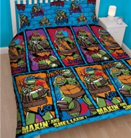 Ninja Turtles Dekbedovertrek Shell 200x200
