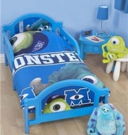 Monsters Inc Dekbedovertrek 120x150 Junior 4in1 MI13007-set