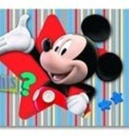 Mickey Mouse Behangrand Donald Duck Zelfklevend MM13094