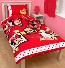 Disney Minnie Mouse Dekbedovertrek Set Diva