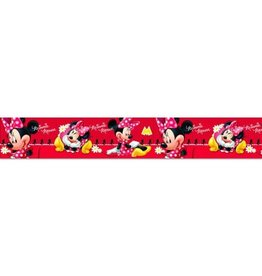 Disney Minnie Mouse Behangrand Rood