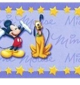 Disney Minnie Mouse Behangrand Micky Pluto