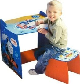 Thomas de Trein Fisher Price Thomas de Trein Tafel Bureau en Kruk TH20087