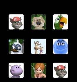 Talking Friends Handdoek Apps TF20002