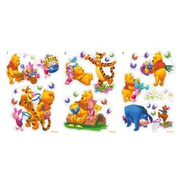 WINNIE DE POEH DECORATIE STICKERS 18 WP23030-18