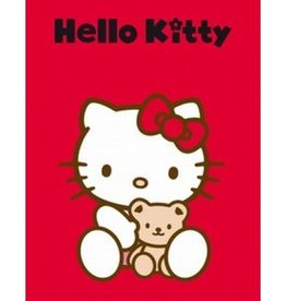 Sanrio  Hello Kitty Fleece Deken Knuffel