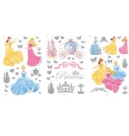 PRINCESS DECORATIE STICKERS METALIC 110
