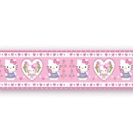 Hello Kitty Behangrand Hartjes HK08252
