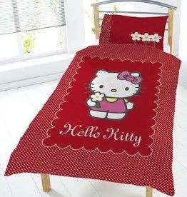 Hello Kitty Dekbedovertrek Set Bloemmetjes HK08100