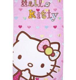 Hello Kitty Handdoek Hartjes Kleuren