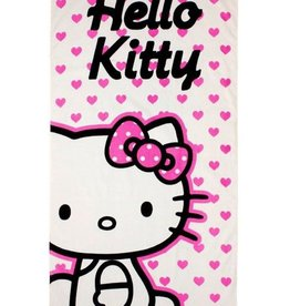 Sanrio  Hello Kitty Handdoek Hartjes