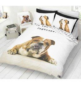 Hond Dekbedovertrek Bulldog 200x200