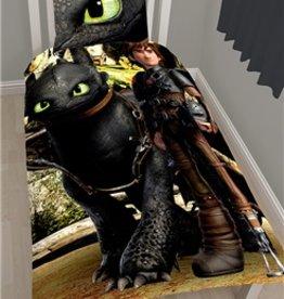 Dreamworks Dragon Dekbedovertrek Katoen