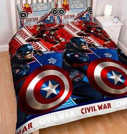 Marvel Dekbedovertrek 200x200 Captain America Civil War