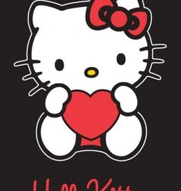 Sanrio  Hello Kitty Strandlaken Heart Black