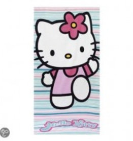 Sanrio  Hello Kitty Handdoek Strepen