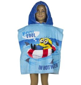 Minions Despicable Me Minions Poncho Blauw