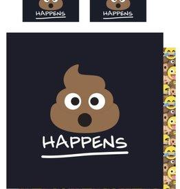 Emoji Emoji Tweepersoons Dekbedovertrek Drol