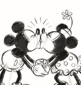 Disney Minnie Mickey 002 Handdoek