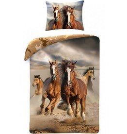 Animal Pictures Paarden Bedsheet