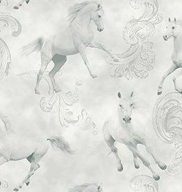 Camarillo Paard Grijs Behang