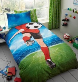 Gavano Cavailia Voetbal Dekbedovertrek Voetballer