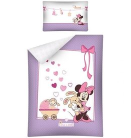 Disney Minnie Mouse  Junior Dekbedovertrek Doll