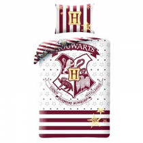 Warner Bros Harry Potter  Katoen Dekbedovertrek Hogward