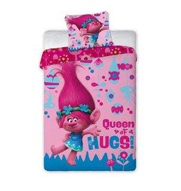 Dreamworks Trolls Dekbedovertrek Queen of Hugs