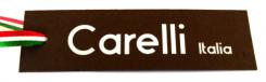 Carelli Italia leren tassen logo