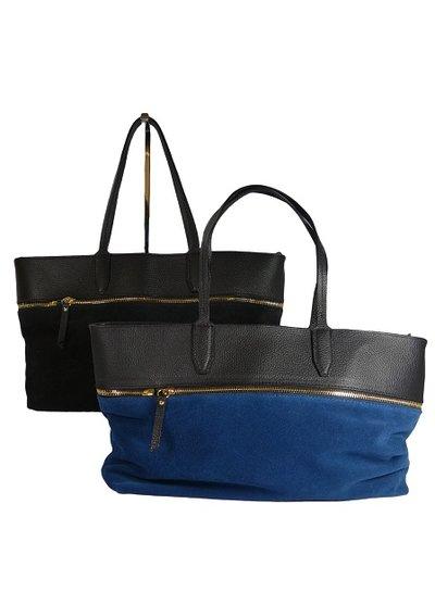 Schoudertas Blauw Leer : Leren schoudertas ancona blauw handtas van leer