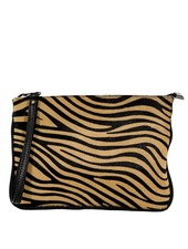 Carelli Italia Hippe Clutch Sassari Tijgerprint Small