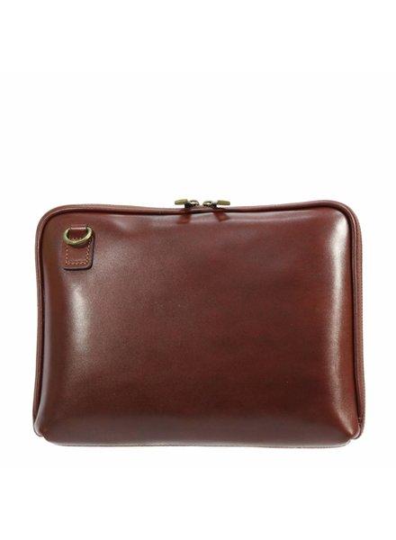 Carelli Italia Leren iPad tas Pescara Cognac