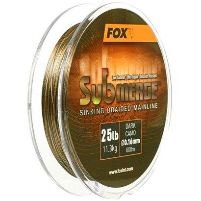 Fox Submerge Sinking Braid 600m