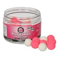 Mainline Fluoro Pop-Ups Pink & White Cell 14mm