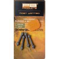 PB Products Downforce Tungsten Heli-Chod Rubber & Beads X-Small