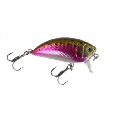 Effzett Pro-Lite Shallow Crank 40mm Rainbow Trout